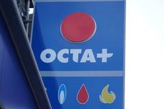 OCTA petrol station. Brussels, Belgium - December 8, 2017: OCTA petrol station. OCTA is the acronym for Orange County Transportation Authority stock photos