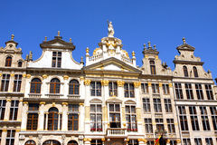 BRUSSELS - Belgium. The Grand Place in Brussels the capital city of Belgium in Europe stock image