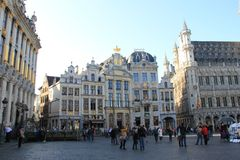 Brussels, Belgium, Grand Place Stock Photo