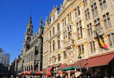 Brussels, Belgium, Grand Place Stock Images
