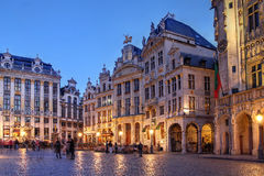 Brussels, Belgium. Guild houses in the Grand Place (Grote Markt) in Brussels, Belgium Royalty Free Stock Image