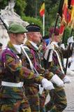 National Day of Belgium celebrations Royalty Free Stock Photo