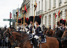 Military parade in National Day Stock Image