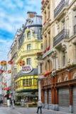 BRUSSELS, BELGIUM - JULY 07, 2016 :City views cozy European citi Royalty Free Stock Photo