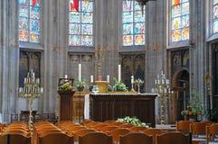 Petit Sablon church Royalty Free Stock Photography