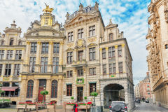 BRUSSELS, BELGIUM - JULY 07, 2016 : Grand Place (Grote Markt) - Royalty Free Stock Image