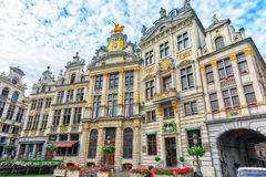 BRUSSELS, BELGIUM - JULY 07, 2016 : Grand Place (Grote Markt) - Stock Photo