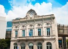 BRUSSELS, BELGIUM - June 16, 2016 : Exterior of the building of Stock Image