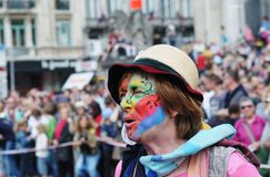 Zinneke Parade on May 19, 2012 in Brussels Stock Photo