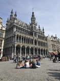 Tourists in Brussels Royalty Free Stock Images