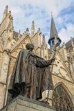 Cardinal of the Roman Catholic Church Desire-Josef Mercier. BRUSSELS, BELGIUM-NOVEMBER 9: Memorial of The Belgian Cardinal of the Roman Catholic Church Desire Stock Photos
