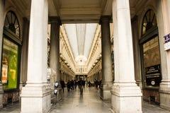 Brussels, Belgium: Queen Gallery Stock Images