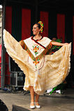 Dancer of Xochicalli Mexican folkloric ballet Royalty Free Stock Image