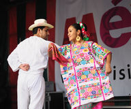 Xochicalli Mexican folkloric group Royalty Free Stock Images