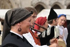 Grupo Folklorico Centro Asturiano de Bruselas Stock Photos