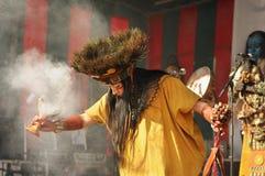 Pueblo Maya de Xcaret Stock Image