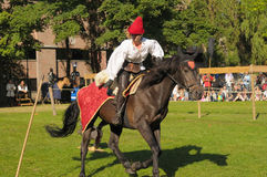 Medieval Celebration in Abbey de Forest Royalty Free Stock Photo