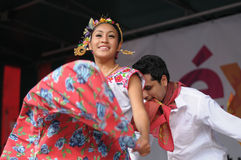 Mexican folkloric ballet Stock Image