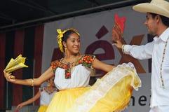 Xochicalli Mexican folkloric ballet Royalty Free Stock Photos