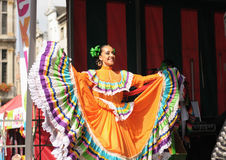 Mexican folkloric ballet Stock Photography