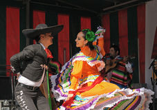 Mexican folkloric ballet Stock Images