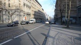 Brussels in Belgium stock footage