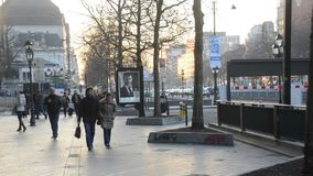 Brussels in Belgium stock video