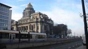 Brussels in Belgium stock video footage
