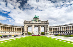 Brussels, Bruxelles, Belgium - Cinquantenaire Royalty Free Stock Photo