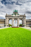 Brussels, Bruxelles, Belgium - Cinquantenaire Stock Photo