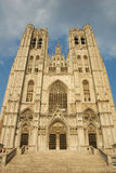 Brussels Cathedral. St. Michael and St. Gudula Cathedral in Brussels, Belgium Royalty Free Stock Images
