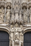 Brussels Cathedral Church, Belgium Royalty Free Stock Image