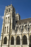 Brussels cathedral Stock Photography
