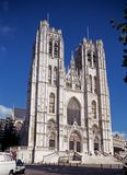 Brussels Cathedral. Royalty Free Stock Image