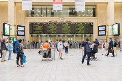 Brussels Central Train Station Royalty Free Stock Image