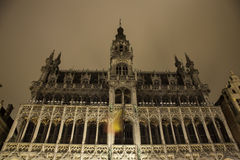 Brussels city hall Stock Photo