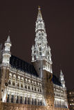 Brussels City Hall (Hotel de Ville) in Grand Place Stock Image