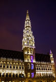 Brussels City Hall Stock Photography