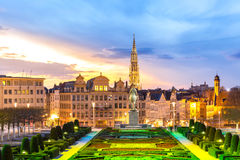 Brussels Cityscape Belgium Royalty Free Stock Images