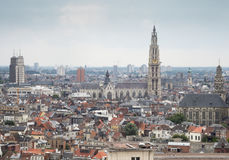 Brussels cityscape - capital city of Belgium Royalty Free Stock Image