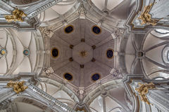 Brussels -The cupola of church Notre Dame du Bon Secource Royalty Free Stock Photography