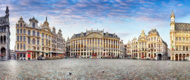 Brussels at day, nobody, Belgium Royalty Free Stock Images