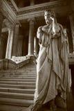 brussels domstolrättvisa arkivbild