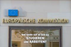brussels european flags стоковые изображения