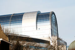 brussels europeanparlament Arkivbilder