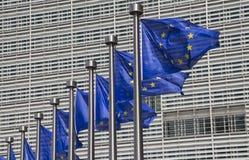 brussels europejczyk zaznacza zjednoczenie Zdjęcie Stock
