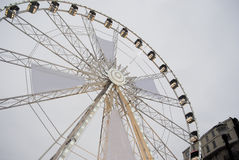 Brussels. Ferris Wheel Stock Photo