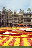 Brussels Flower Carpet Royalty Free Stock Photo