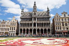 Brussels Flower Carpet 2016 Royalty Free Stock Image