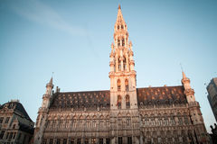 Brussels Grand Palace Royalty Free Stock Images